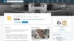 LinkedIn Company Page for Innovation Bound